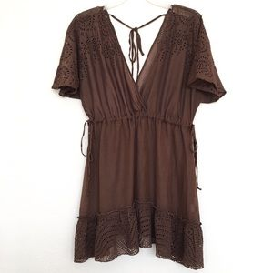 $20 SALE Johnny Was 4 Love & Liberty Swim Coverup